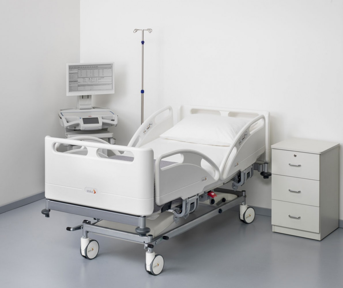 Stralus-C200-Acute-Care-Bed